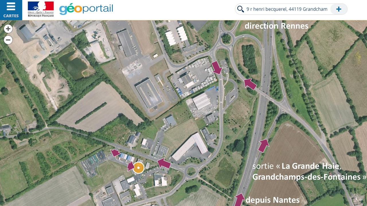 plan d'accès - vue aérienne - v1
